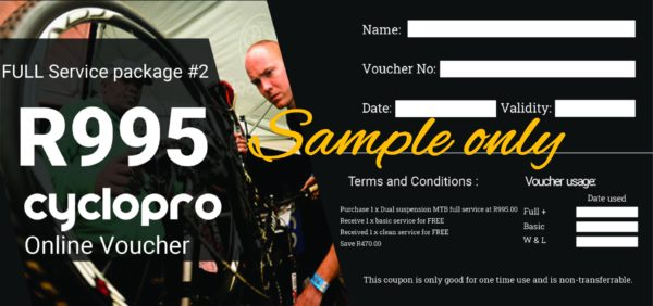 Full service voucher 2 SAMPLE